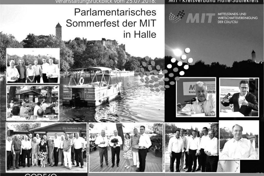 facilioo und Dein Verband beim parlamentarischen Sommerfest der MIT