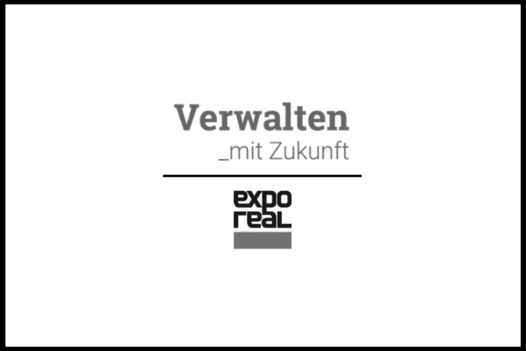 Verwalten mit Zukunft auf der EXPO REAL 2018 in München